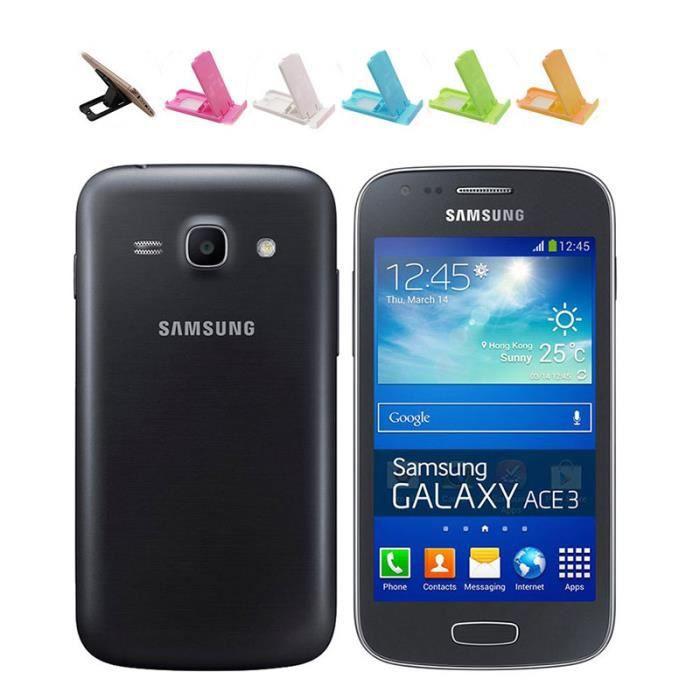 SMARTPHONE (Noir) Pour Samsung Galaxy Ace 3 S7275 8GB Occasio