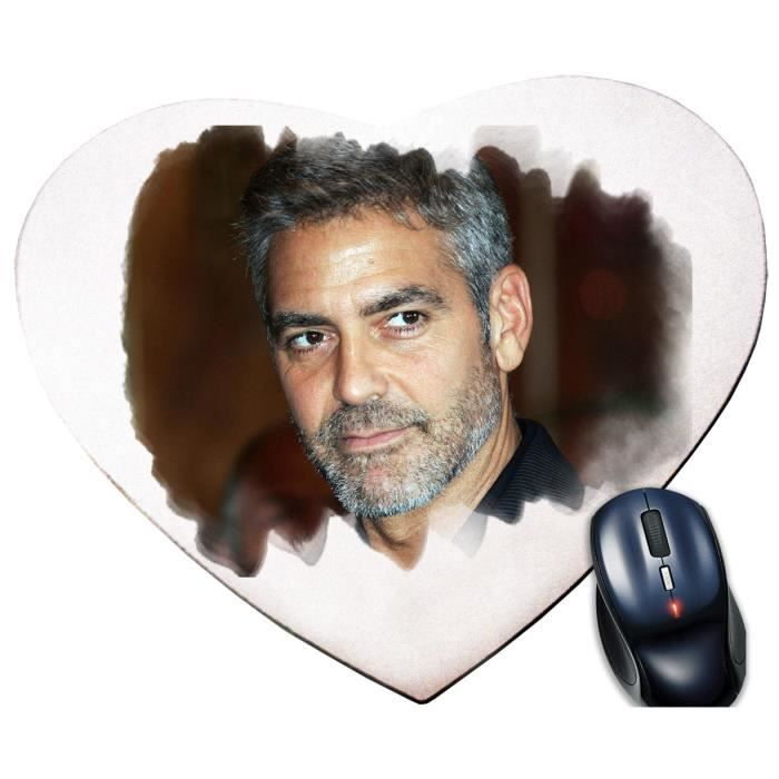 tapis de souris george clooney prix pas cher cdiscount. Black Bedroom Furniture Sets. Home Design Ideas