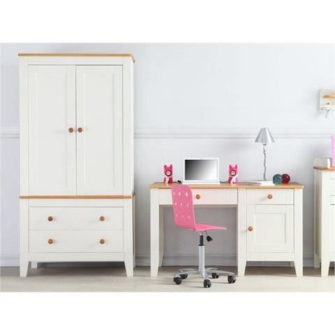 armoire 2 portes pour chambre enfant evolutive magnolia achat vente armoire de chambre. Black Bedroom Furniture Sets. Home Design Ideas