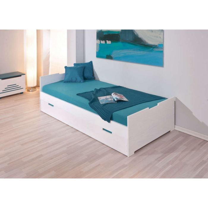 lit enfant 90 x 200 cm achat vente lit complet lit. Black Bedroom Furniture Sets. Home Design Ideas