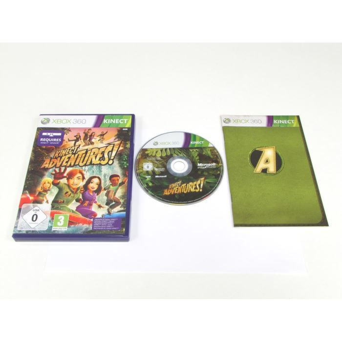 JEUX XBOX 360 Kinect Adventures!