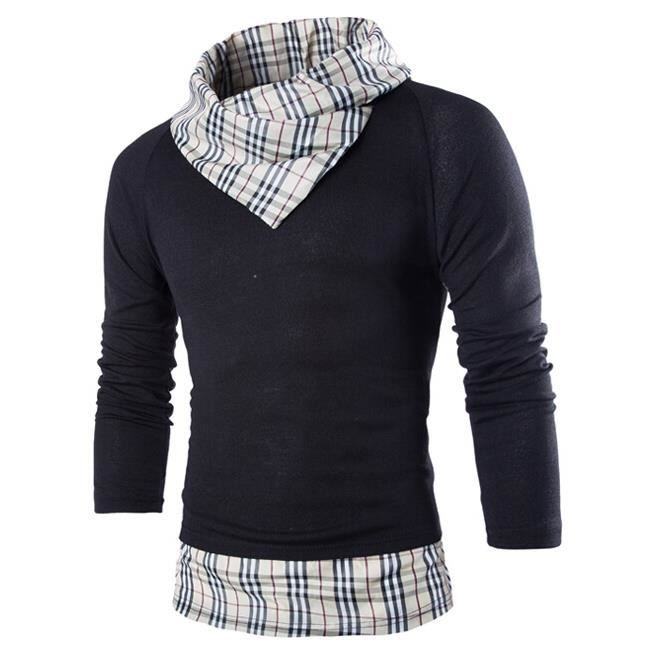La mode rayures carreaux pull hommes grille achat for Pull a carreaux