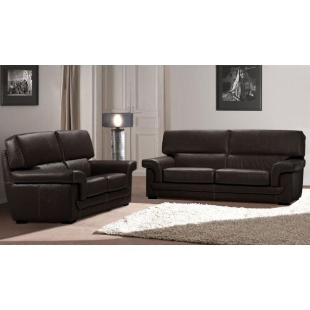 canap en cuir boston achat vente canap sofa divan soldes d t cdiscount. Black Bedroom Furniture Sets. Home Design Ideas