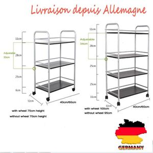 desserte inox achat vente desserte inox pas cher cdiscount. Black Bedroom Furniture Sets. Home Design Ideas