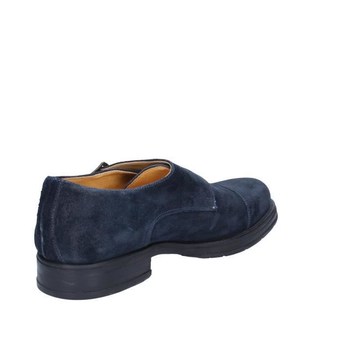Barone Bleu Salvo Derbies Homme Daim xqwO8vw
