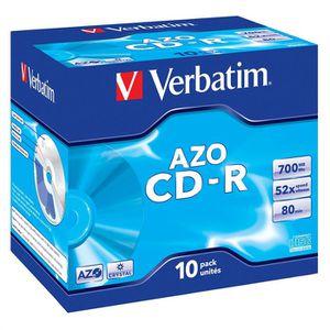 CD - DVD VIERGE Verbatim CDR 80 min 52x (10)