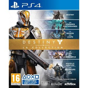 JEU PS4 Destiny: La Collection Jeu PS4