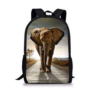 SAC À DOS Coffret Multi-Jeux GHKZ9 Sac à dos d'éléphant anim