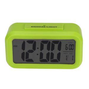 Radio réveil 1pc LED Digital SNOOZE réveil contrôle lumière con