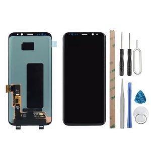 PIÈCE TÉLÉPHONE VITRE TACTILE + ECRAN LCD POUR SAMSUNG GALAXY S8 P