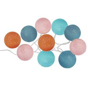 OBJETS LUMINEUX DÉCO  Guirlande lumineuse 10 boules LED pop Autres Multi