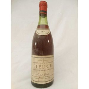 VIN ROUGE fleurie michel gaidon rouge 1971 - beaujolais fran