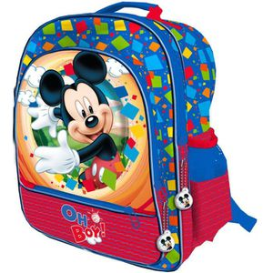 CARTABLE MICKEY ET SES AMIS - Grand cartable 41 cm adaptabl