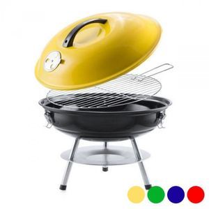 PortatifBbq A Portable NicCampingPetit – VoyagePic Charbon Nomade Couvercle Barbecue De Bois Jaune Oy0vN8mnw