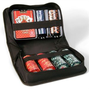 JETON - POKER Cartamundi Set de voyage Poker