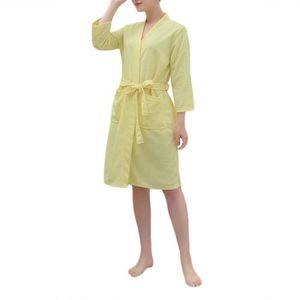 PEIGNOIR Peignoir de Bain Femme Homme Robe de SPA-Chambre e