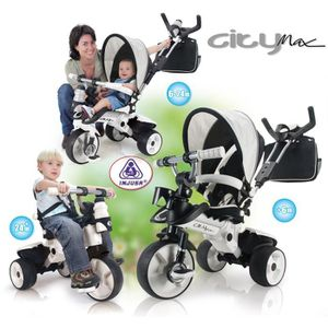 TRICYCLE INJUSA Tricycle enfant évolutif City Max