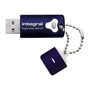 DISQUE DUR SSD Integral Crypto Dual - Clé USB - 16 Go - USB 3.0