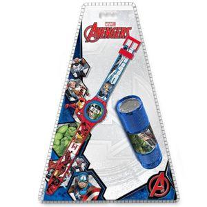 MONTRE montre enfant avengers marvel Thor Hulk Captain Am