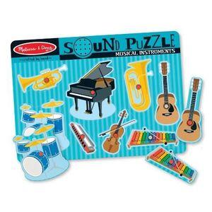 PUZZLE MELISSA & DOUG Puzzle Sonore - Instruments Musicau