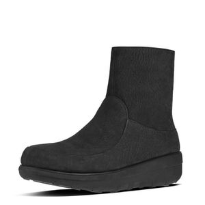 Dames Loaff Bottines À Lacets, Fitflop Noir