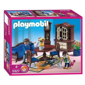 Playmobil dollhouse achat vente playmobil dollhouse for Salle a manger playmobil 5335