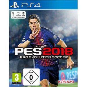 JEU PS4 PES 2018 PS4 + Essai PSN 14 Jours