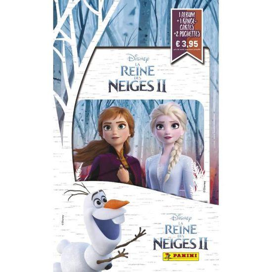 2019 PANINI carte 56-Disney Frozen la reine 2 cartes de collection série
