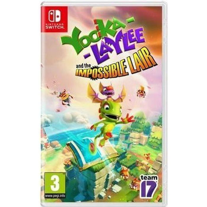 Yooka-Laylee : The Impossible Lair Jeu Switch