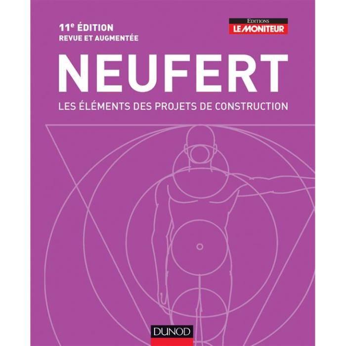 Neufert, les éléments des projets de construction