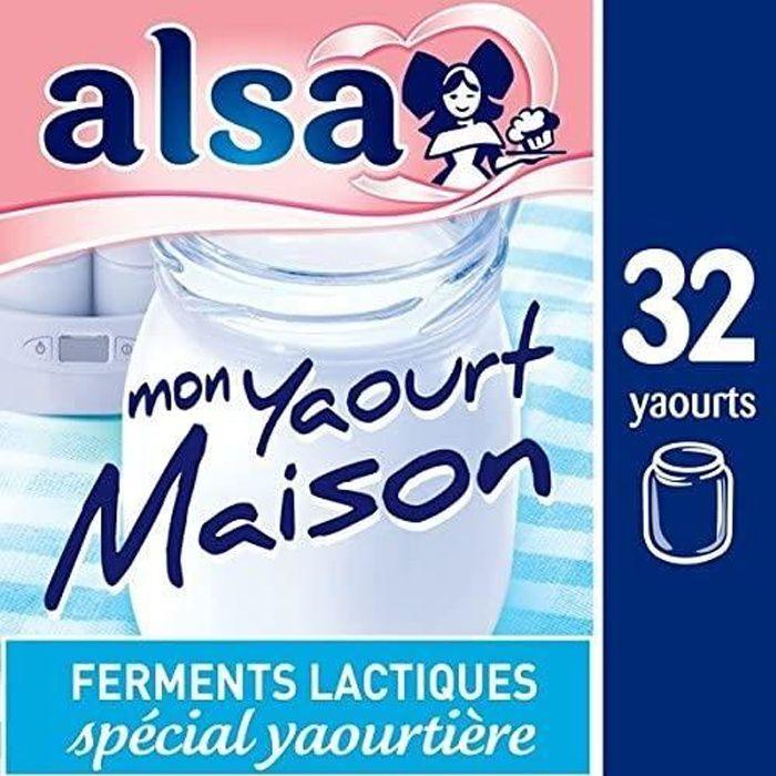 Alsa Préparation Mon Yaourt Maison( lot de 2)