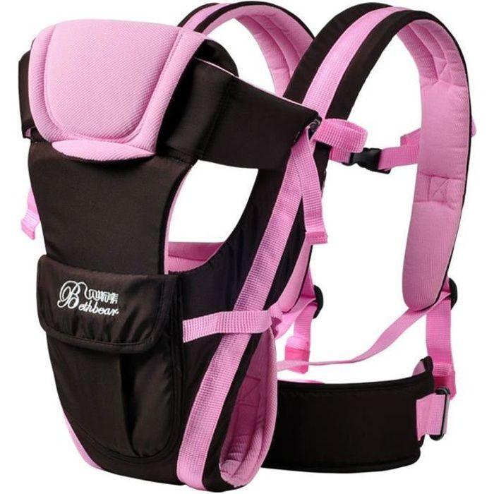 Nouveau-né Porte bébé réglable Sling Wrap Baby Carrier sac à dos