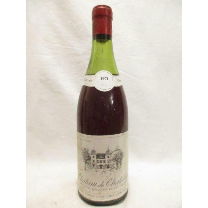villages château de chatelard tête de cuvée rouge 1971 - beaujolais
