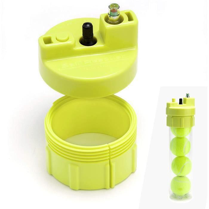 couvercle pressuriseur pour tubes de 3 ou 4 balles de padel ou de tennis 35 psi