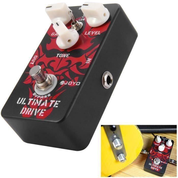 Pédale d'effet pour Guitare acoustique Son AMP JF-02 True Bypass American Sound Simulateur d'amplificateur à Pédale pour Guitare