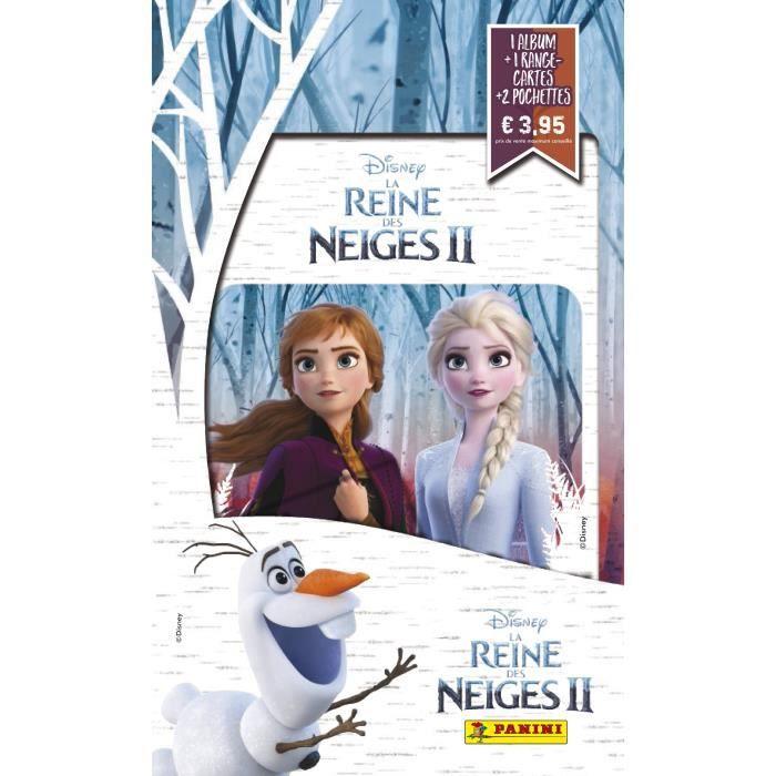 LA REINE DES NEIGES 2 Album + porte cartes + 2 pochettes