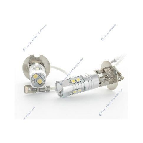 2 x Ampoules H3 10 LED SS HP