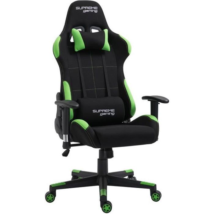 Chaise de bureau gaming SWIFT fauteuil ergonomique avec...