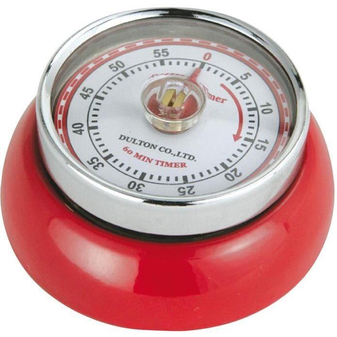 Minuteur de cuisine Speed - rouge
