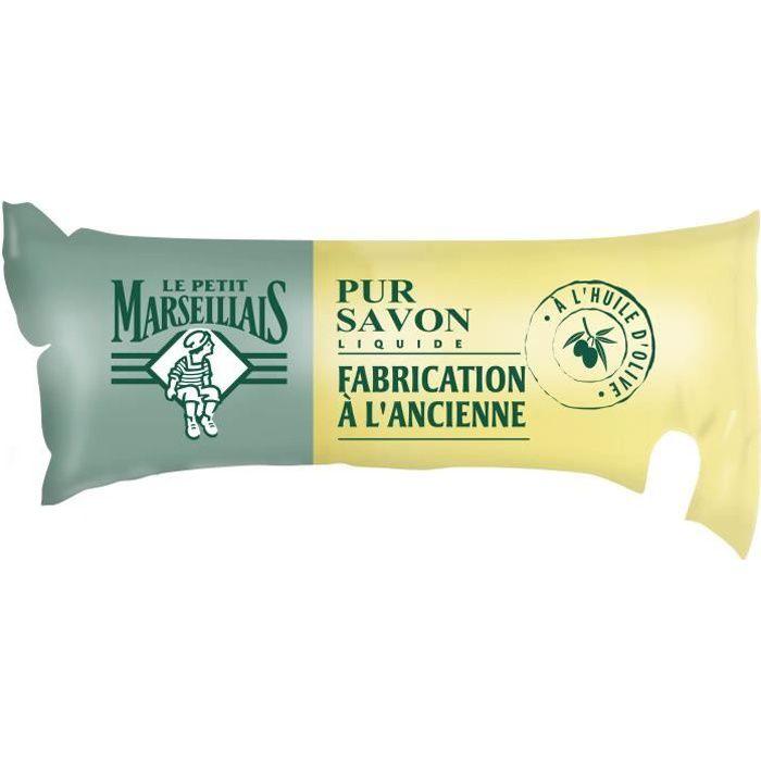LE PETIT MARSEILLAIS Savon liquide - Olive - Eco-Recharge de 250 ml