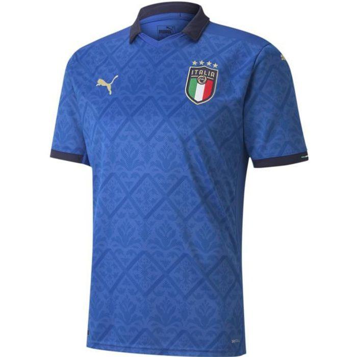 Maillot Puma Italie Domicile bleu homme