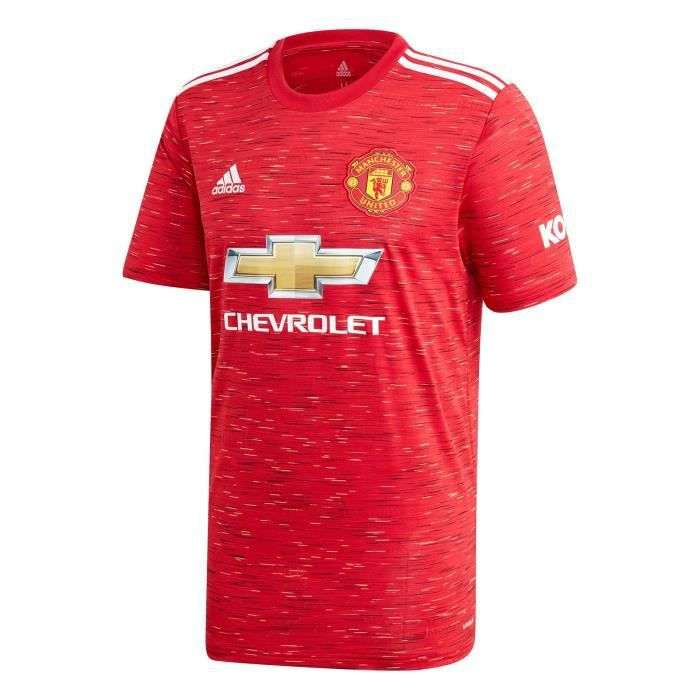 Maillot Manchester United - 2020-2021 Maillot de Football Home Jersey - Rouge