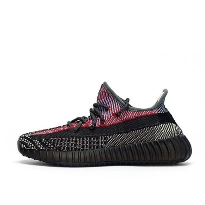 Basket Yezzy Boost 350 V2 FX4145 (Reflective) Chaussures de Running Homme Femme - 3M reflective