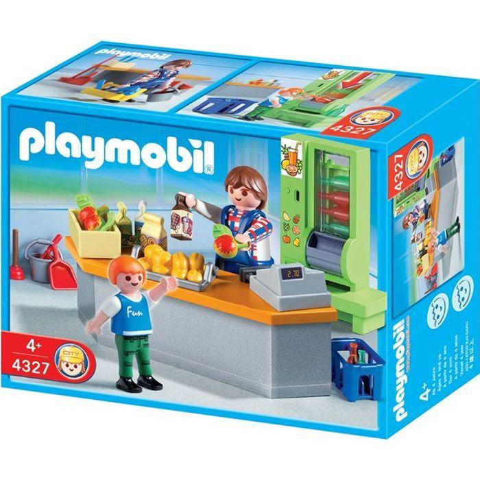 PLAYMOBIL 4327 Boutique et matériel d'entretien
