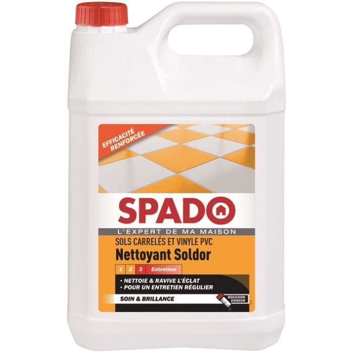 Soldor entretien carrelage et sol plastique - 5 L