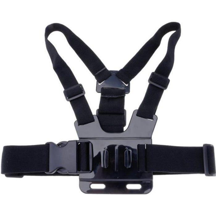 Harnais de poitrine Ceinture de sangle Support pour appareil photo Gopro Hero 4-3-3 + Xiao Mi Yi