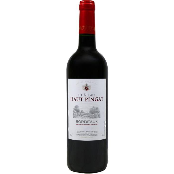 VIN ROUGE Château Haut-Pingat, Bordeaux, 2016 - Vin Rouge