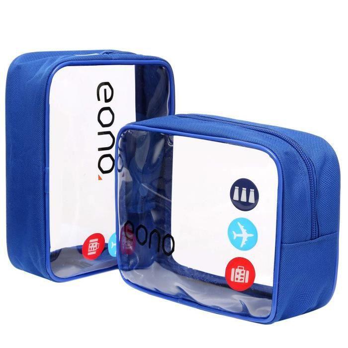 Trousse de toilette Avion Homme //// Travel Kit //// Trousse de voyage Avion //// Id/éal valise cabine //// Conforme normes a/éroportuaires