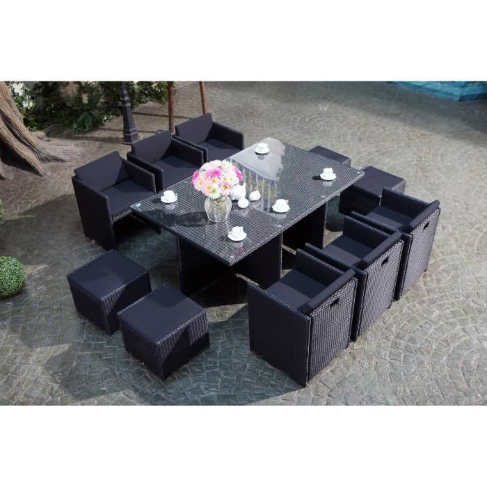 table de jardin 12 personnes achat vente table de jardin 12 personnes pas cher cdiscount. Black Bedroom Furniture Sets. Home Design Ideas