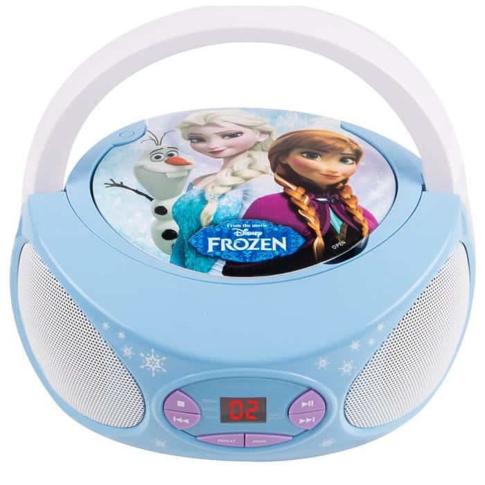la reine des neiges lecteur cd enfant boombox achat vente radio cd enfant cdiscount. Black Bedroom Furniture Sets. Home Design Ideas